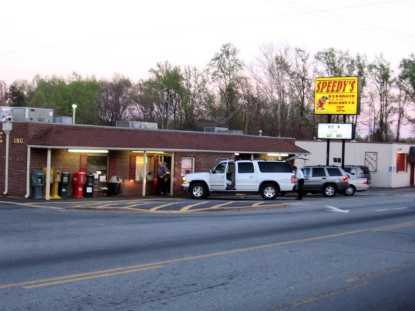Speedy's BBQ Restaurant (Front View)